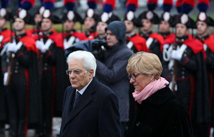 Президент Италии на военном параде