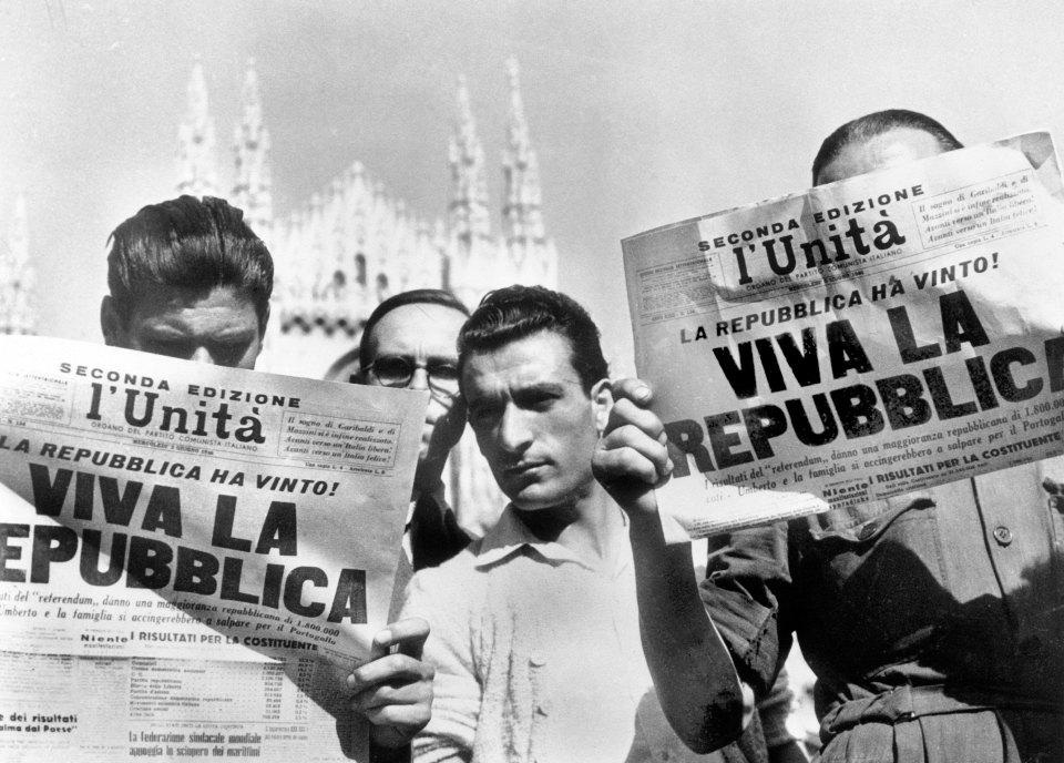 Провозглашение Итальянской Республики