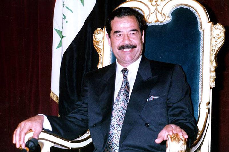 Саддам Хусейн у власти