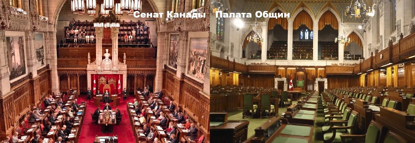 Сенат Канады и Палата Общин