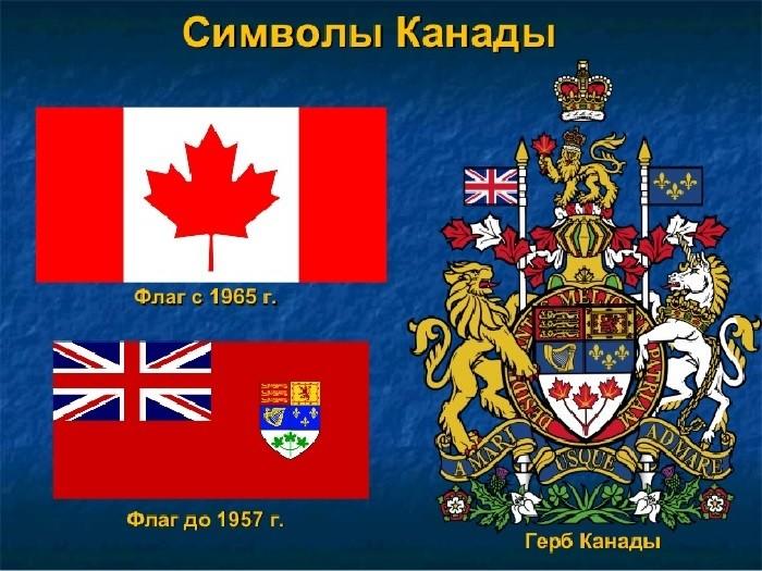 Символы Канады