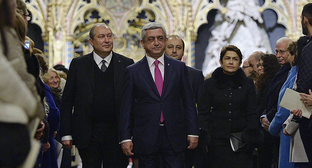 Армен Саркисян и Серж Саргсян