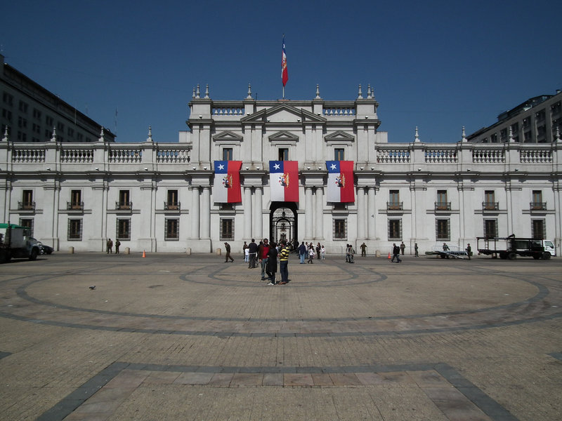 Дворец Ла Монеда