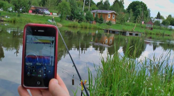 Эхолот на рыбалке