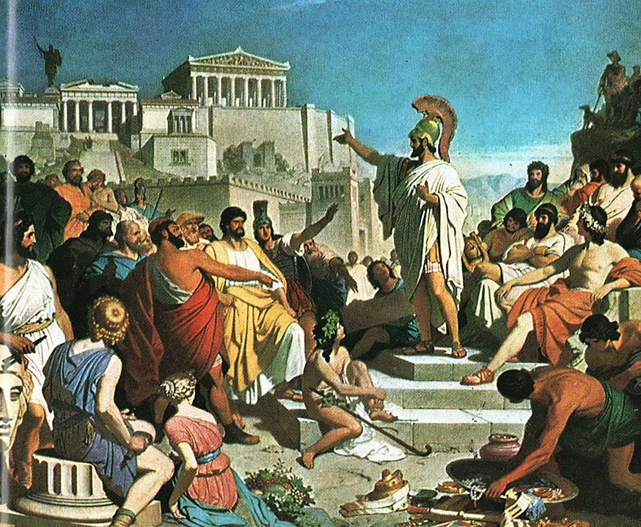 Греческая демократия