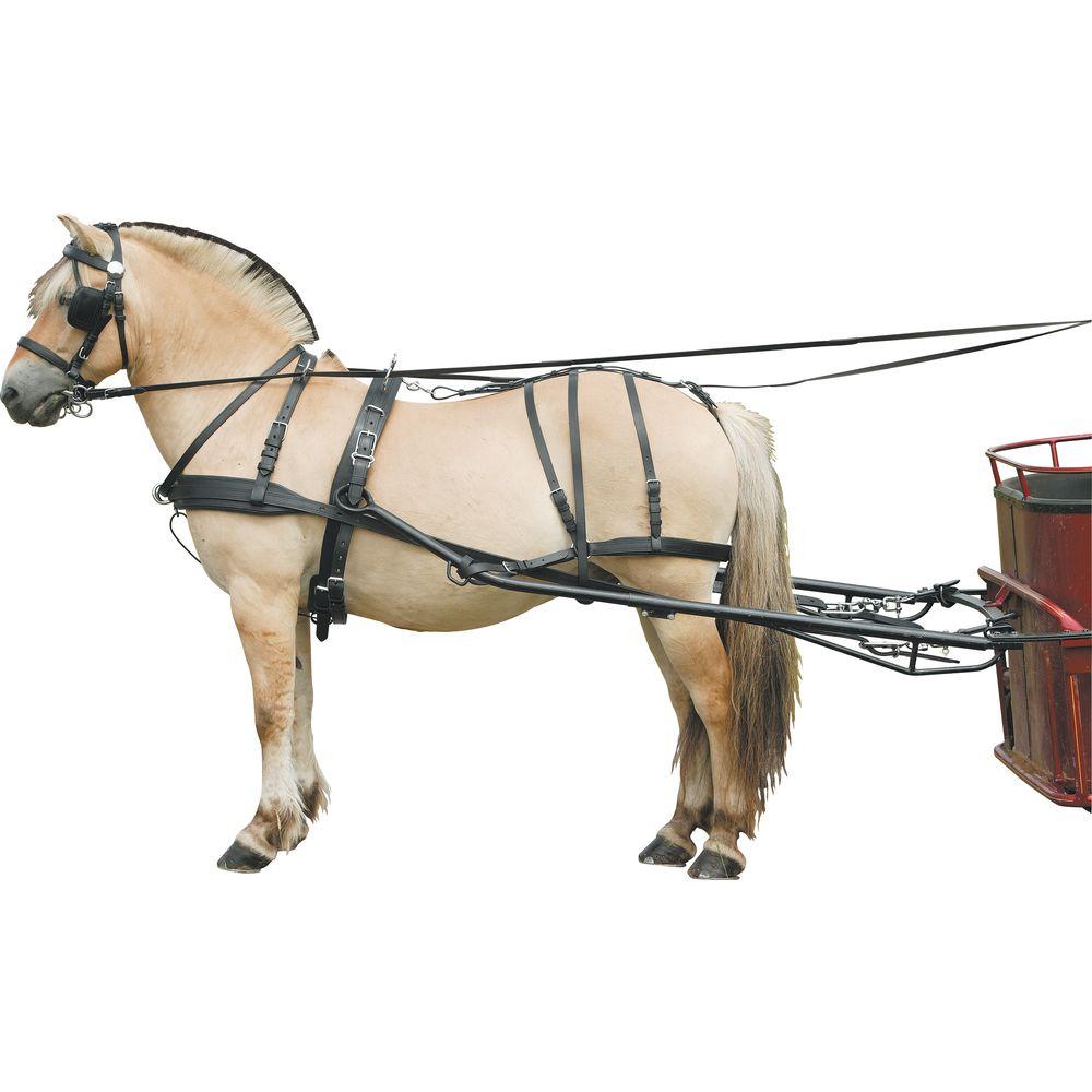 Переоснащаемая упряжь для одной лошади