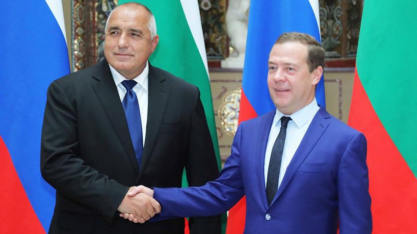 Премьеры Болгарии и России