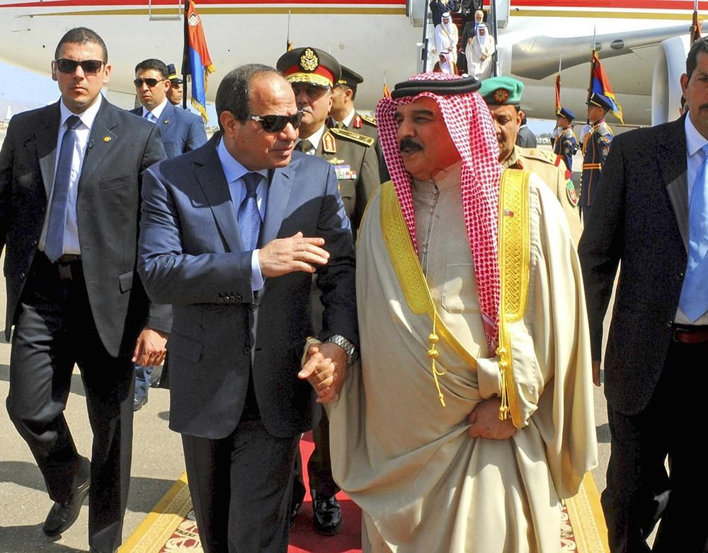 Президент Египта и президент Йемена