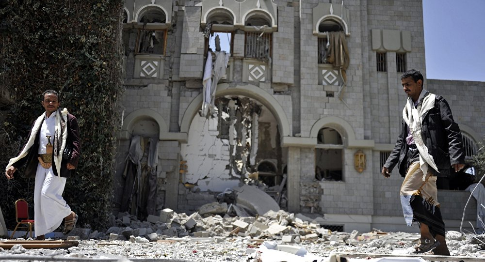 Президентский дворец в Йемене
