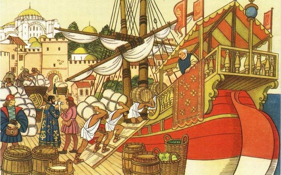 Византийские торговцы