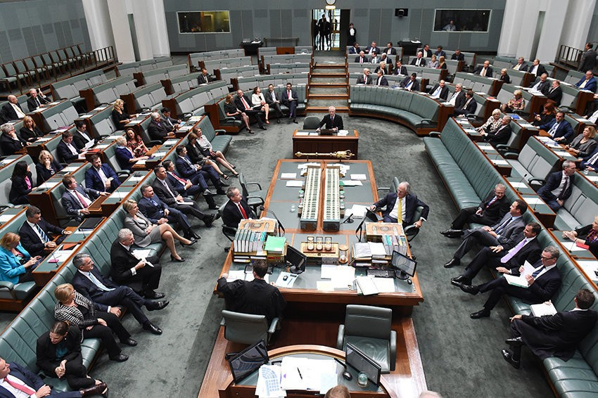 australian parliament a law maker has The myth has potency as a universal acknowledgement of the principles that the sovereign is not above the law and that sovereignty lies in the people and is exercised by their elected representatives through parliament.