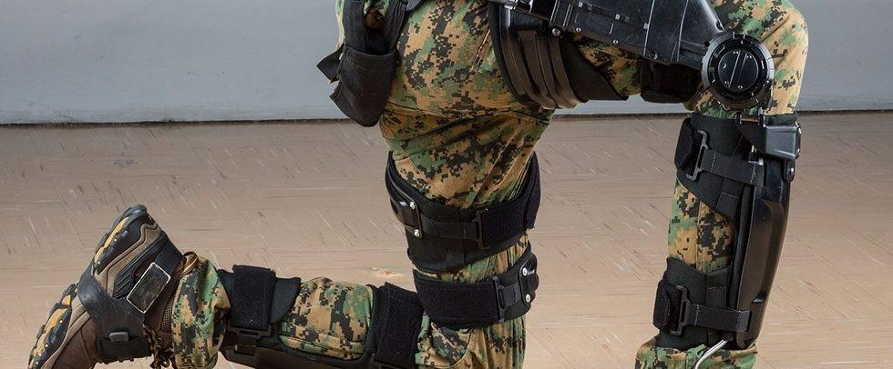 Американский солдат в экзокостюме ONYX