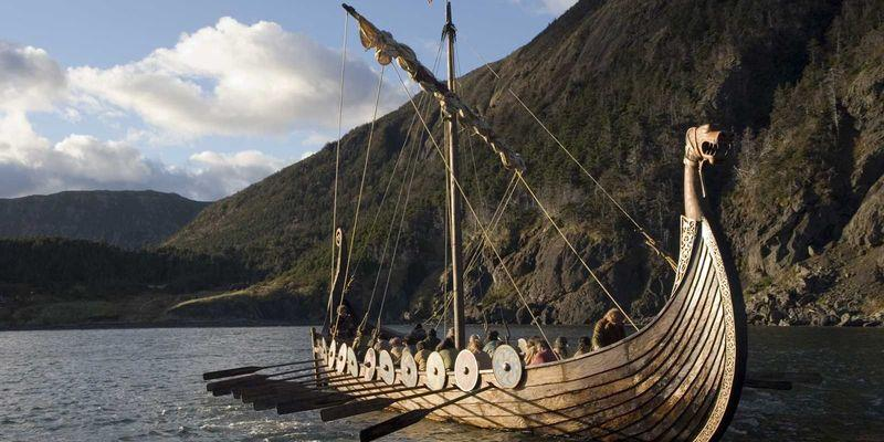 Корабль скандинавов