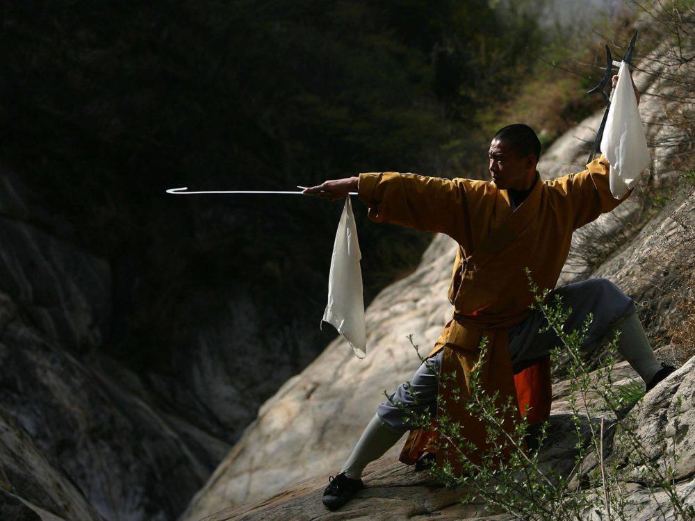 Монах с шуангоу