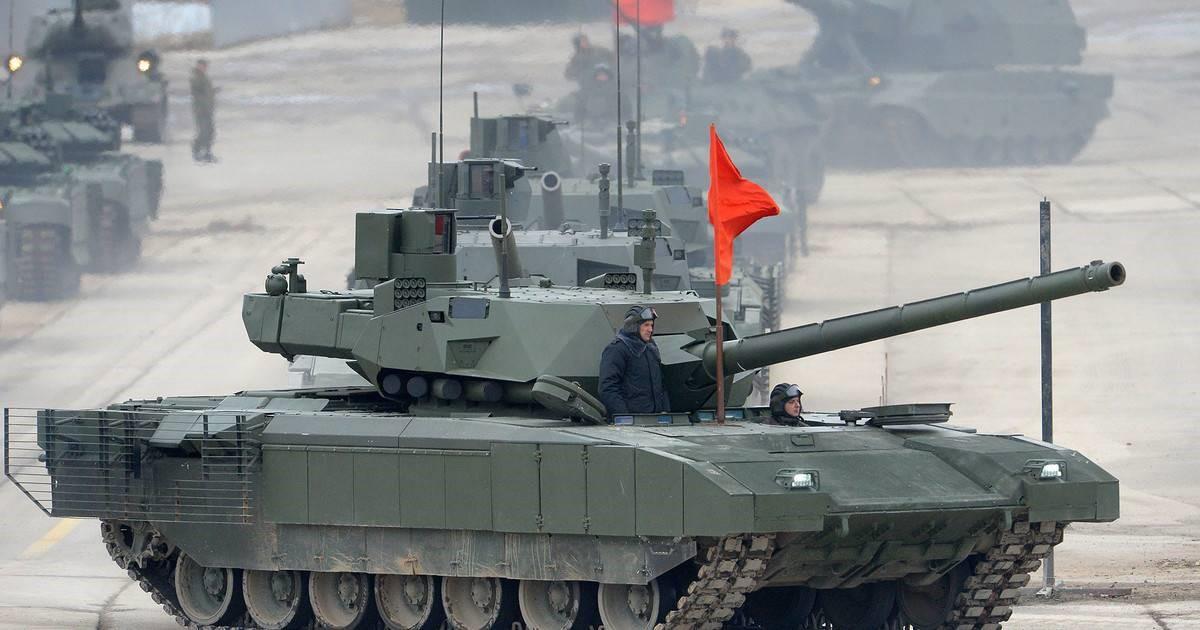 Российская армия не будет закупать «Армату» и «Бумеранги»