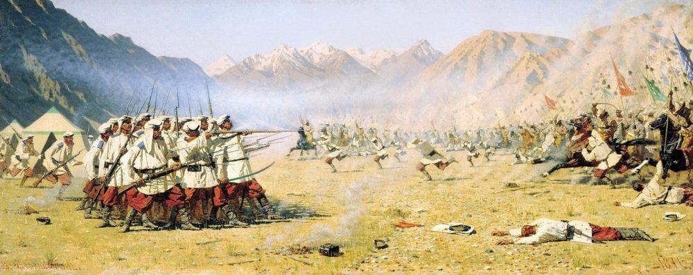 Российская империя против Кокандского ханства