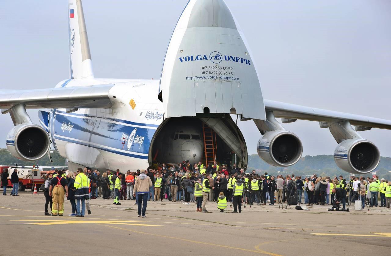 Российский самолет Волга-Днепр