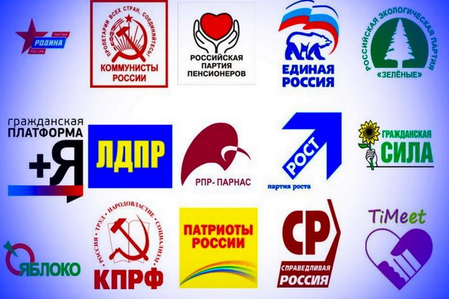 Российское партийное многоголосье