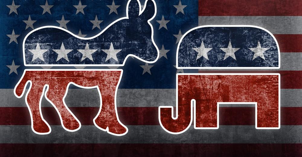 Символы основных партий США
