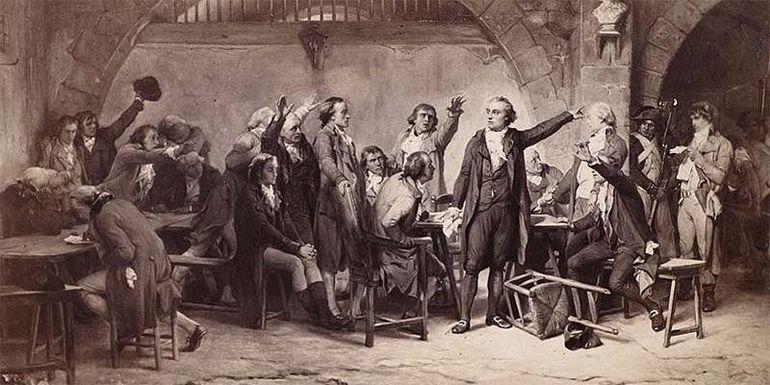 Собрание французских жирондистов