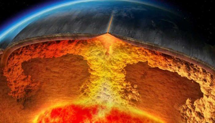 Строение Земли в разрезе