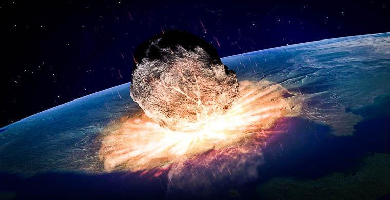 Удар метеорита