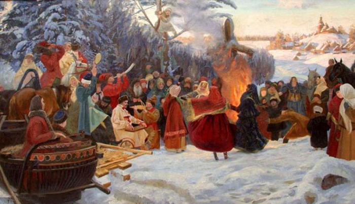 Зимние славянские праздники
