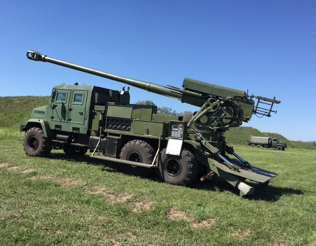 Украинская армия получила мощнейшую самоходную установку