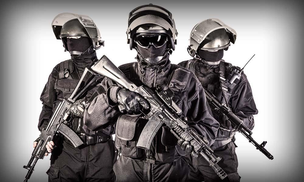Бойцы спецназа