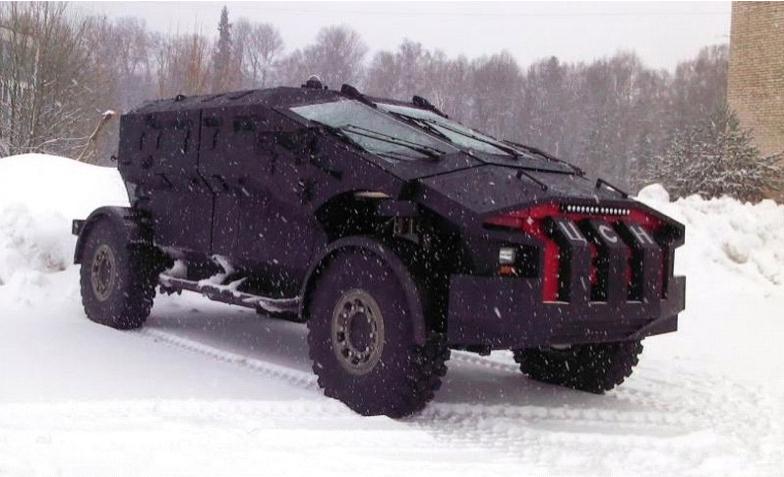 Бронеавтомобиль «Каратель»: подробный обзор российского монстра