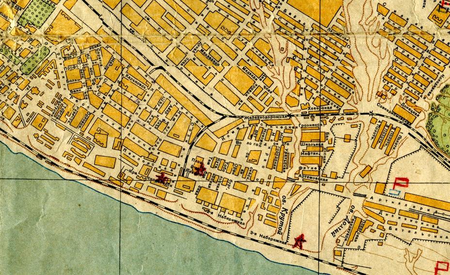 Карта Сталинграда