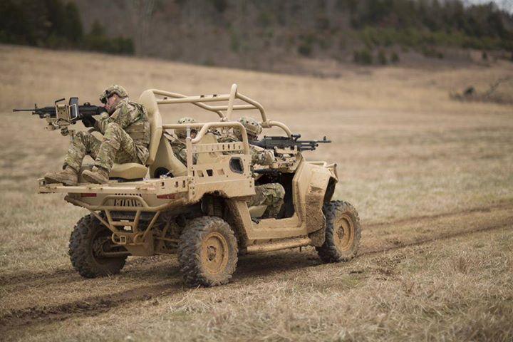 MRZR X с солдатами