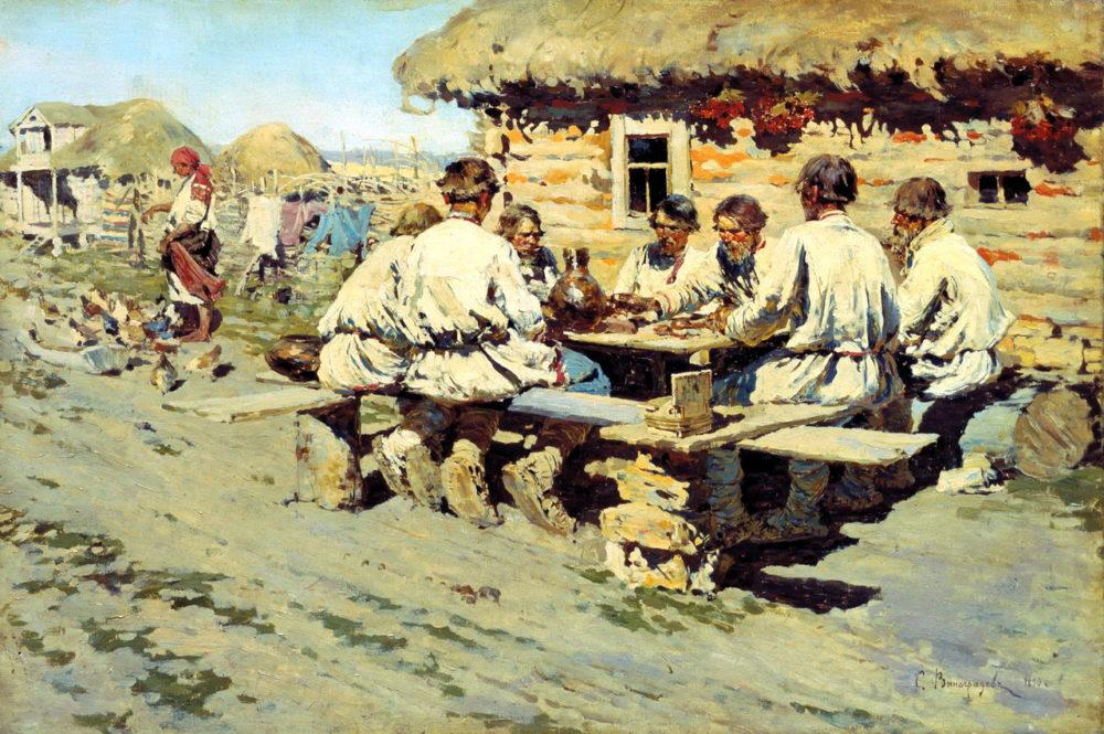 Мужчины-крестьяне