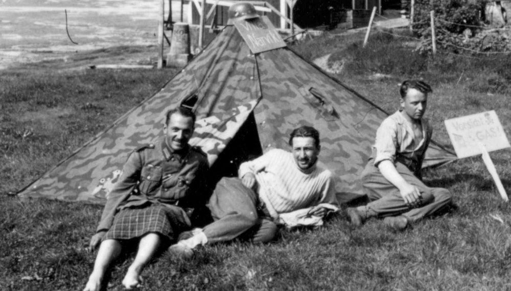 Немецкая плащ-палатка
