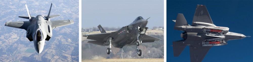 Полет F-35