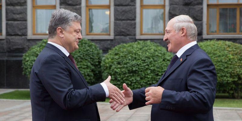Порошенко и Лукашенко