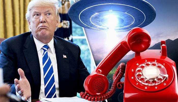 Трамп и НЛО