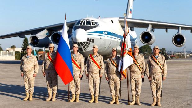 Военные России и Сирии