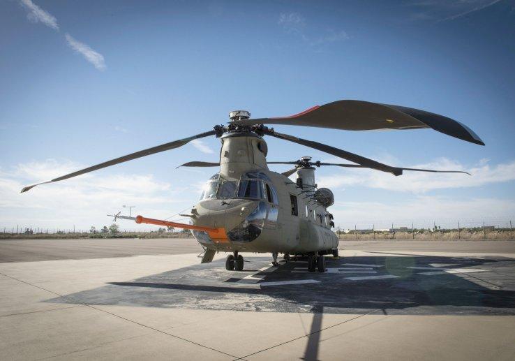 Chinook на аэродроме