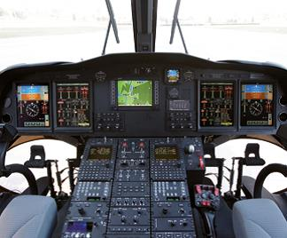 Кабина пилотов MH-139