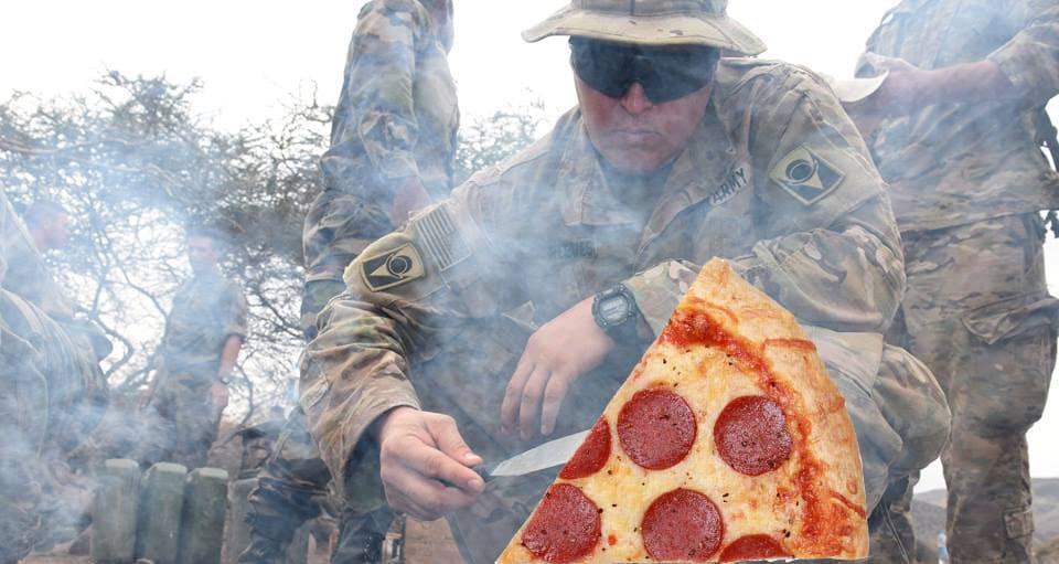 Новая пицца