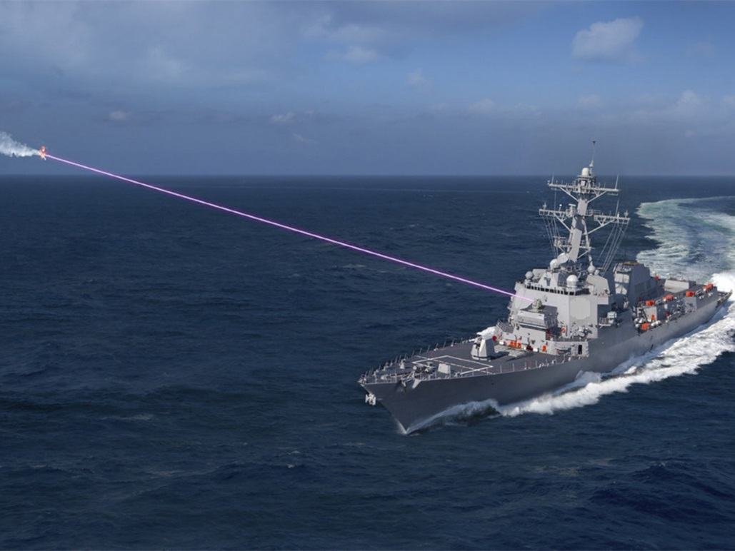 Применение лазерного оружия