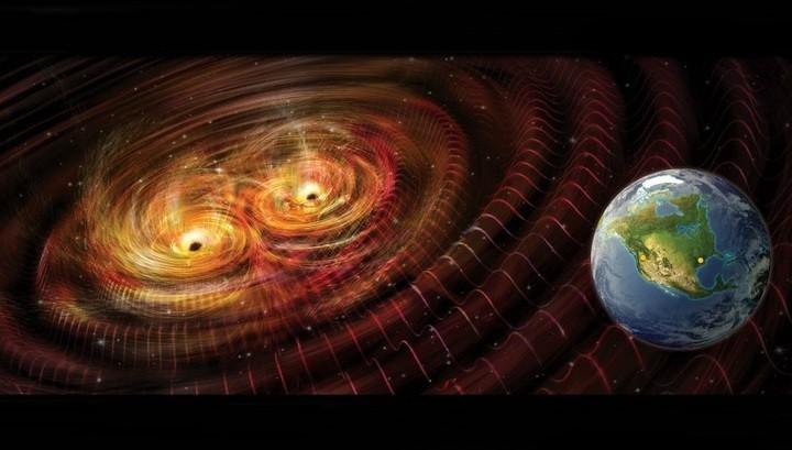 «Рябь пространства-времени»