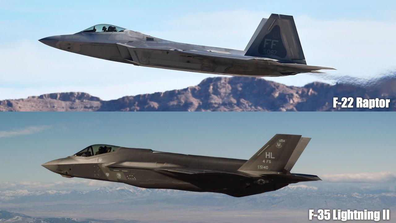 F-22 и F-35
