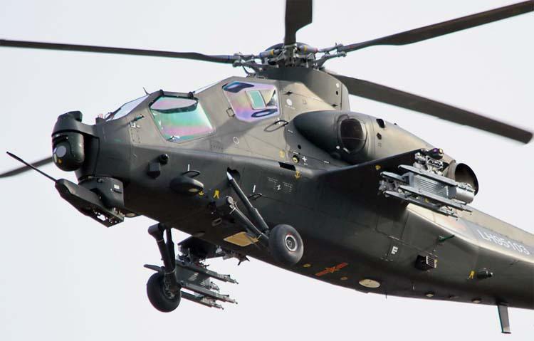 Китайский вертолет