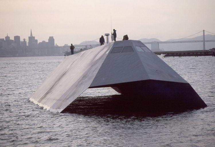 «Невидимое» судно