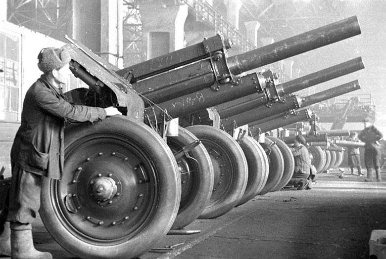 Пушки Великой Отечественной