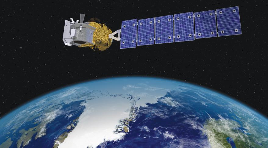 nasa satellite tracker - 879×485