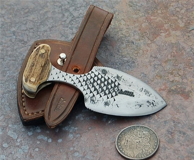 Старый тычковый нож