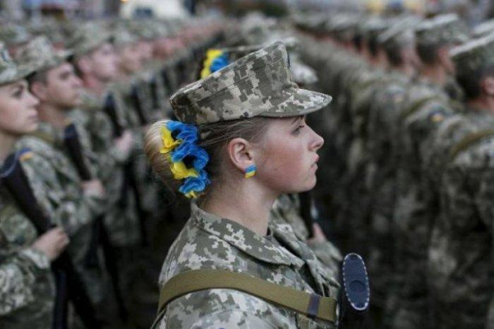 Женщины в армии Украины